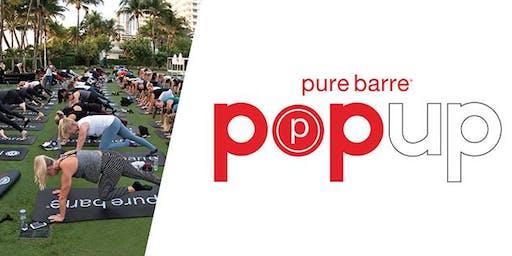 Pure Barre Pop-Up Class!