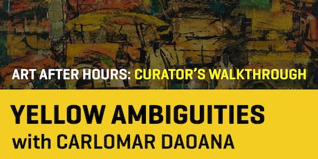 Art After Hours: Yellow Ambiguities tickets