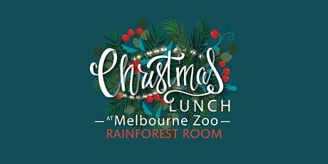 Melbourne Zoo Christmas Day Lunch (RAINFOREST ROOM) tickets