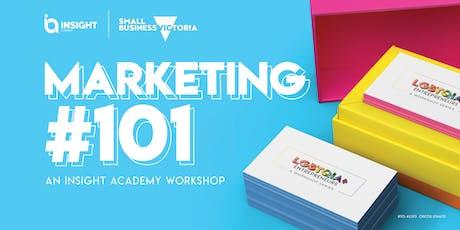 Marketing 101   Workshop tickets