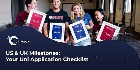 [HCMC] US & UK Milestones: Your University Application Checklist tickets
