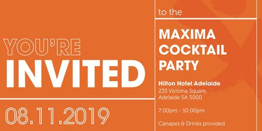 Maxima Cocktail Party