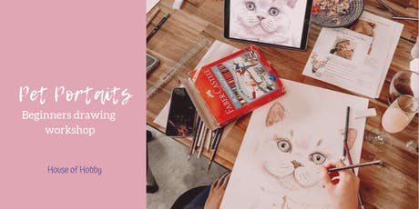 Pet Portraits - Draw Your Fur-baby Workshop tickets