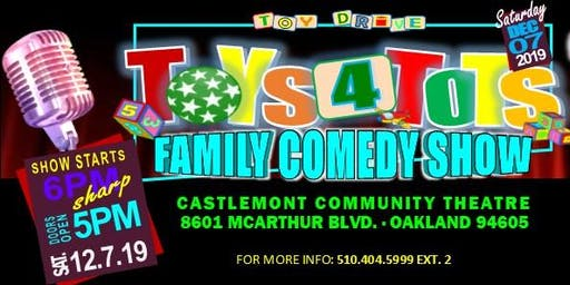 Toys 4 Tots Family Comedy Show