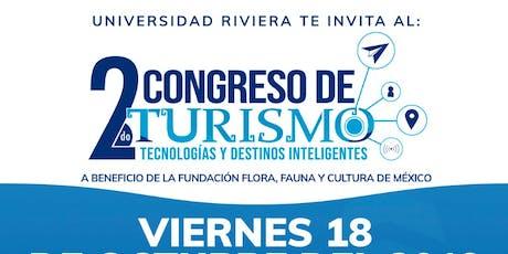 2do. Congreso de Turismo Tecnologías y Destinos Inteligentes boletos