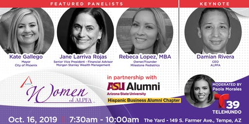2019 Women of ALPFA - Journeys: past, present & future of Latinas in the U.S.