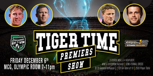 Tiger Time Premiers Show LIVE at The MCG!