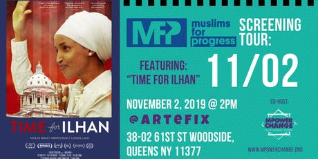 """Time for Ilhan"" Movie Screening tickets"