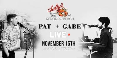 Pat + Gabe LIVE at Salty's