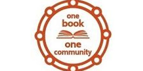 One Book One Community Launch tickets