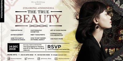 Art Fashion Exhibition: Coloring Indonesia, the True Beauty