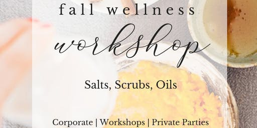 Fall Wellness | Pumpkin Spice Scrubs + Salts