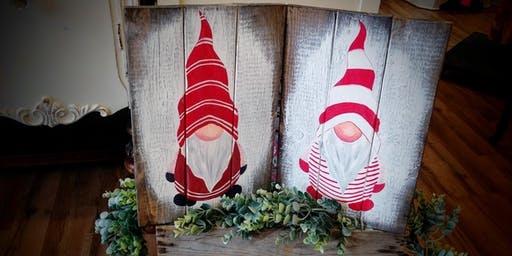 SOLD OUT - Christmas Gnome Paint Night #2