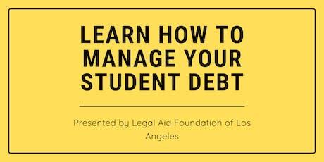 Student Debt Workshop tickets