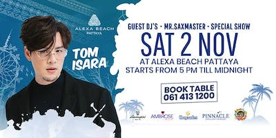 TOM ISARA SATURDAY BEACH PARTY