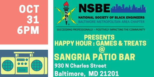 NSBE BMAC Presents :Games and Treats