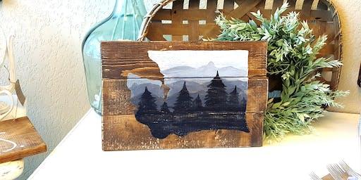 WA Mountains Paint Night