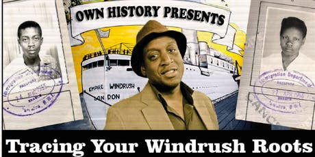 Tracing Your Windrush Roots tickets