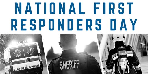National First Responders Day Complimentary Breakfast & Lunch