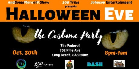 Halloween Eve: The Costume Party by Henny Splash Ent., 200Tribe, Johnson Ent tickets