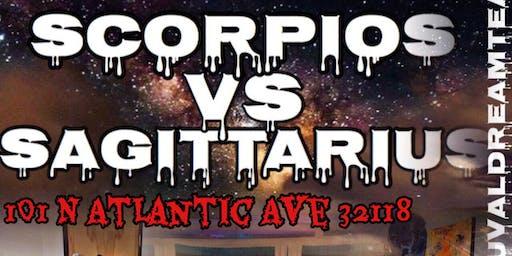 Scorpio vs Sagittarius