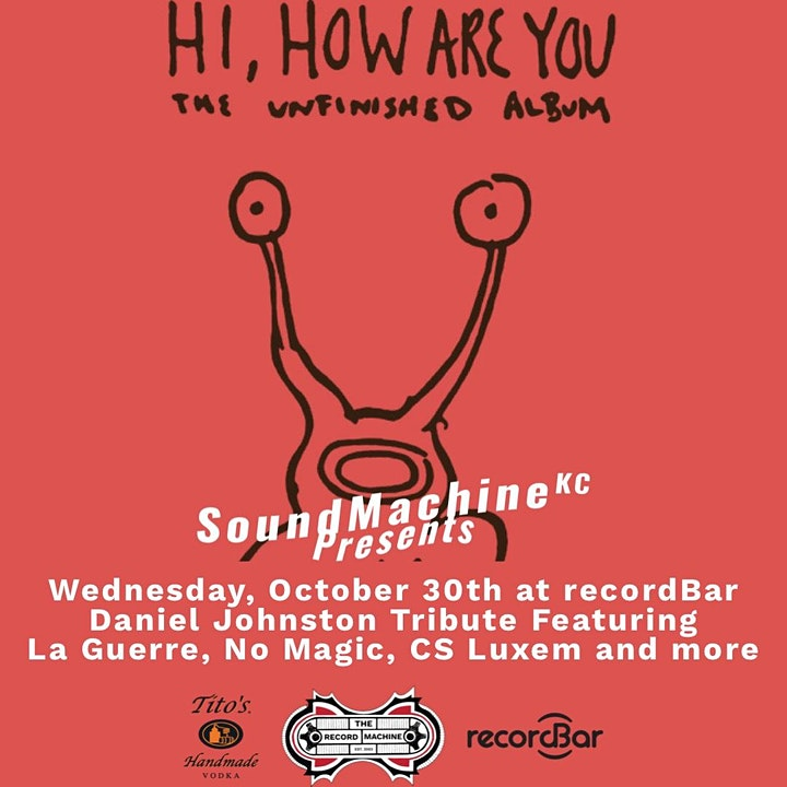 A Tribute  to Daniel Johnston to benefit Midwest Music Foundation image