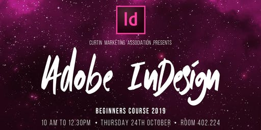 Adobe InDesign Beginners Course