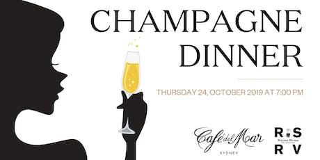 Mumm RSRV Champagne Dinner tickets