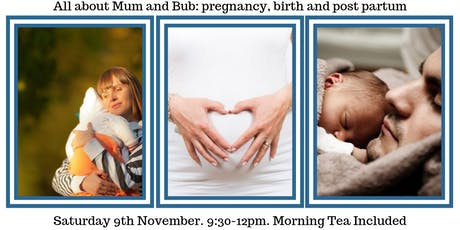 All about Mum and Bub: pregnancy, birth and post partum tickets
