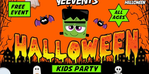 FREE HALLOWEEN COMMUNITY KIDS DANCE PARTY at THE SANTA CLARA FAIRGROUNDS