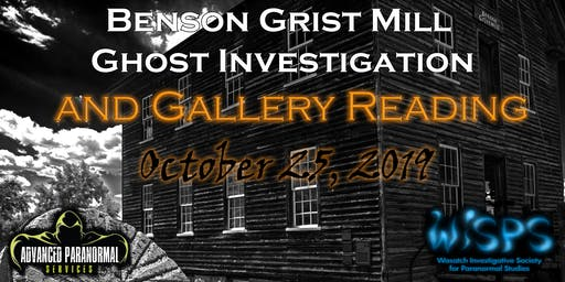 Ghost Investigation and Gallery Reading with a Medium