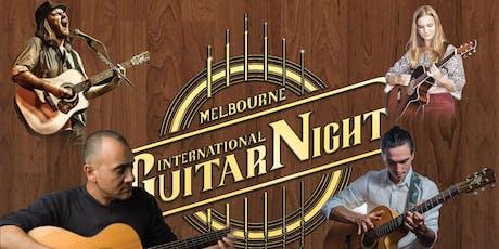 Melbourne International Guitar Night tickets