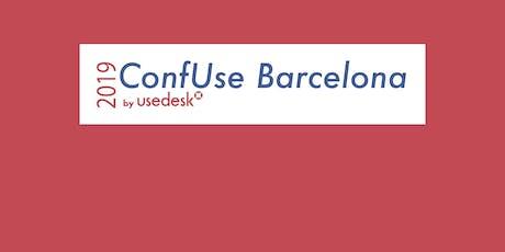 ConfUse Barcelona 2019 entradas