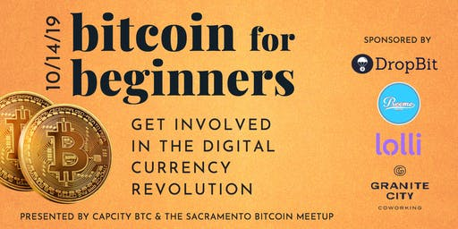 Bitcoin for Beginners: FREE Workshop & Bitcoin Giveaway