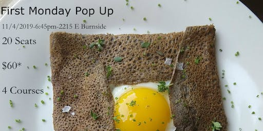 Nick Taylor's First Monday Pop Up