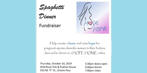 Grace Roots - Hope Home Spaghetti Fundraiser