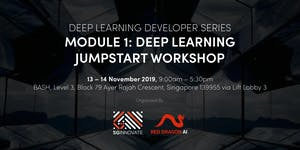 Deep Learning Jumpstart Workshop (13 – 14 November...
