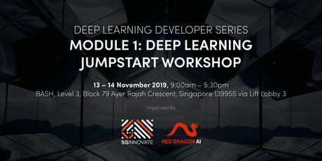 Deep Learning Jumpstart Workshop (13 – 14 November 2019) tickets