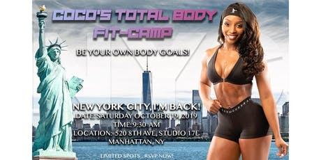 CoCo's Total Body FIT CAMP tickets