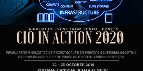 CIO IN ACTION 2020 tickets