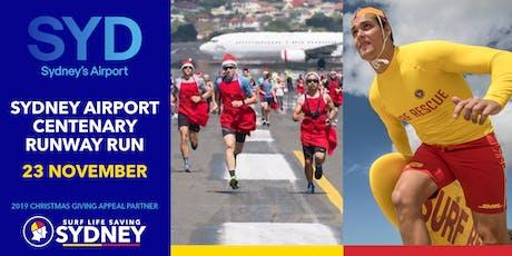 Sydney Airport Centenary Runway Run 2019 tickets