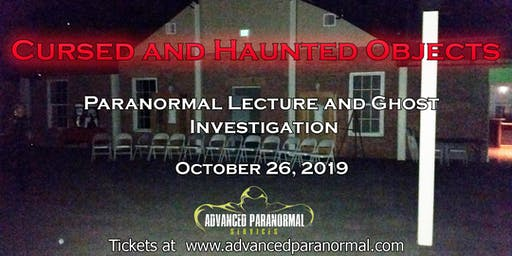 Halloween Cursed Object Lecture and Ghost Investigation