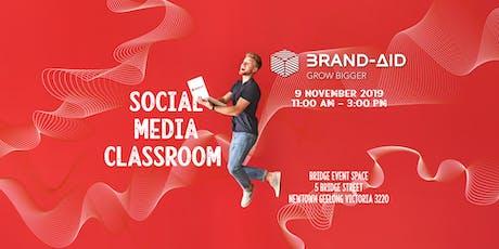 Social Media Classroom tickets
