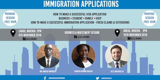 Immigration Applications - Nigeria