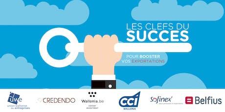 Les clés du succès pour booster vos exportations - Liège billets