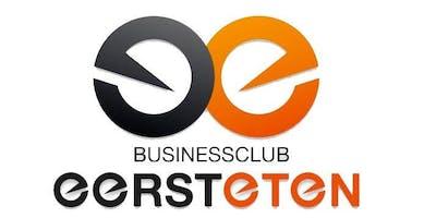 Businessclub Eerst Eten - Rabobank Sponsor Avond
