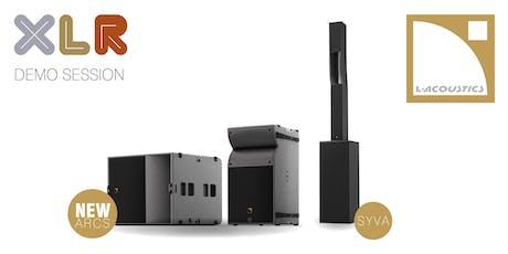 Démonstration   L-Acoustics A15 & KS21 - SYVA billets
