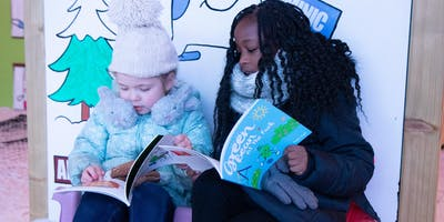 Christmas Story At Altrincham Library With Green Bean & Friends