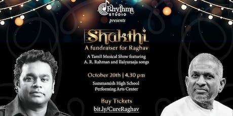 Shakthi - Tamil musical fundraiser by Rhythms Studio tickets
