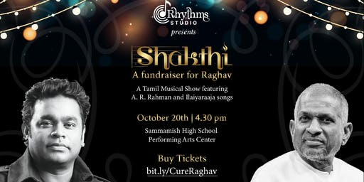 Shakthi - Tamil musical fundraiser by Rhythms Studio